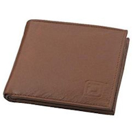 Tan Bifold 6 slot Wallet
