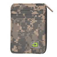 Digital Desert Mini Camouflage Nylon Wallet