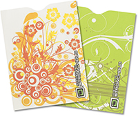 Swirls Passport Sleeves