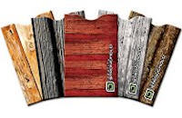 Wood Look Card Sleeves
